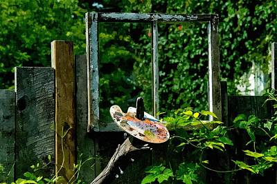 Photograph - Painters Garden by Andrea Kollo