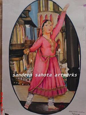 Catherine Jackson Painting - Pakeezah by Sandeep Kumar Sahota