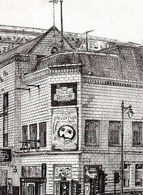 Palace Theater Manchester Print by Vincent Alexander Booth