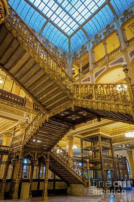 Ornate Photograph - Palacio De Correos  by Inge Johnsson