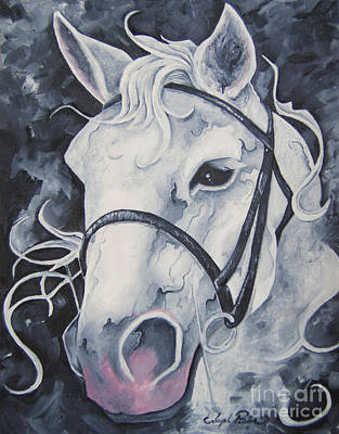 Painting - Pale White Horse by Joseph Palotas