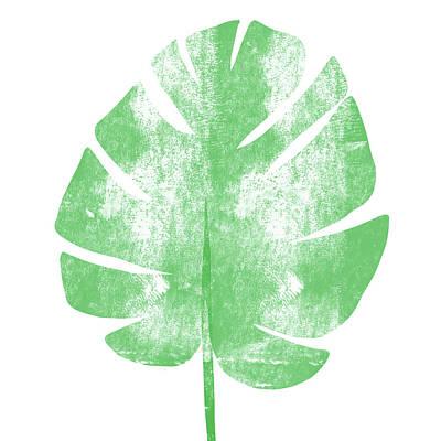 Hawaii Mixed Media - Palm Leaf- Art By Linda Woods by Linda Woods