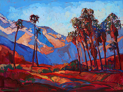 Painting - Palm Springs Color by Erin Hanson