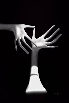 Palm Tickle Two Print by Bob Orsillo