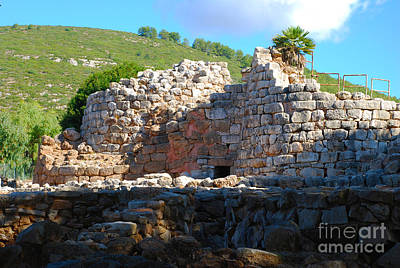 Ruins Photograph - Palmavera Il Nuraghe - Stone Ruins On Sardinia Island by Just Eclectic