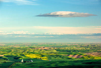 Rain Images Photograph - Palouse Point Of View by Todd Klassy