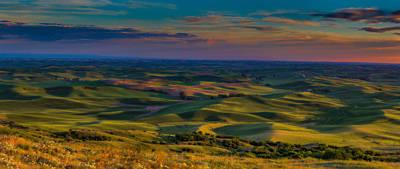 Canon 6d Photograph - Palouse Sunset by Thomas Hall Photography