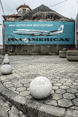 Pan American Vintage Ad Print by Marco Oliveira