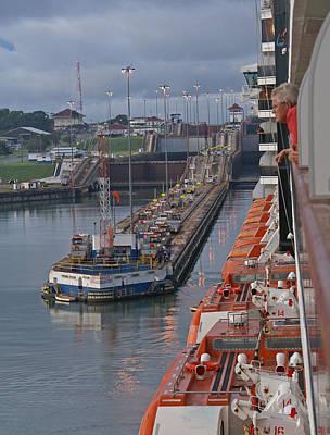 Panama Canal Original by Heather Coen