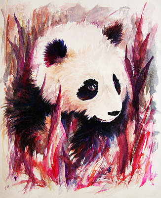 Panda Original by Rachel Christine Nowicki