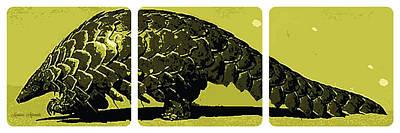 Pangolin Digital Art - Pangolin by Mariecor Agravante