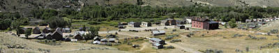 Bannack Ghost Town Photograph - Panorama Of Bannack Montana by David Salter