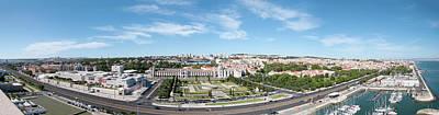 Jer Photograph - Panorama Of Lisbon by Alida Thorpe