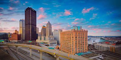 Sewickley Photograph - Panorama Of Pittsburgh  by Emmanuel Panagiotakis