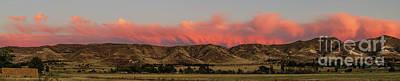 Panoramic Afterglow Print by Robert Bales