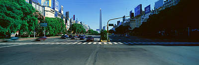 Buenos Aires Photograph - Panoramic View Of Avenida 9 De Julio by Panoramic Images