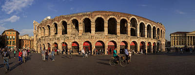 Panoramic View On The Arena Di Verona In Italy Original by Yevhenii Volchenkov