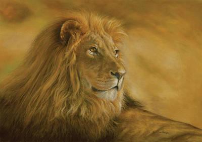 Panthera Leo - Lion - Monarch Of The Animal Kingdom Original by Steven Paul Carlson