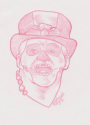 Pap Shango Print by Brian Typhair