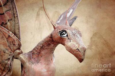 Paper Mache Photograph - Paper Dragon by Ellen Cotton