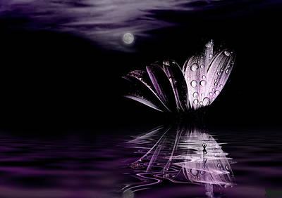 paper Moon Print by John  Poon