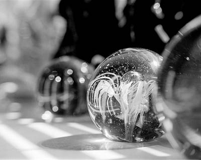 Paperweight Photograph - Paperweights And Morning Sun by Jon Woodhams