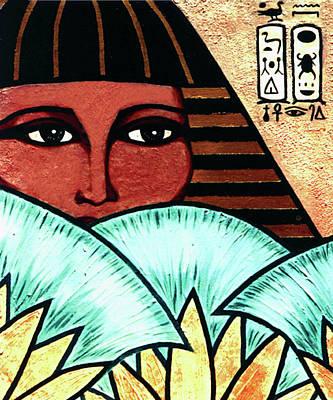 Papyrus Girl Print by Tara Hutton