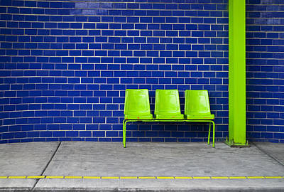 Chairs Photograph - Paradaxochi by Skip Hunt