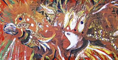 Mardi Gras Painting - Leader Of The Mardi-gras by Gary Smith