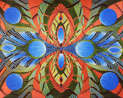 Morph Painting - Paradigm Portal by Maxwell Hanson