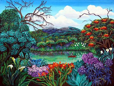 Paradise Found Original by Sarah Hornsby