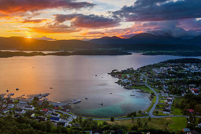 Paradise Of Aalesund Print by Iwan Groot