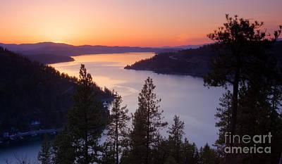 Paradise View Print by Idaho Scenic Images Linda Lantzy