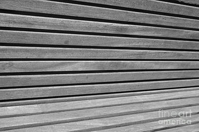 Abstract Photograph - Parallel Space Lines by Angelo DeVal