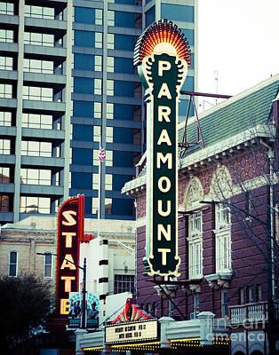 Photograph - Paramount Theatre Austin by Sonja Quintero
