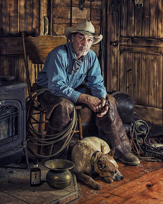 Photograph - Pardners by Ron McGinnis