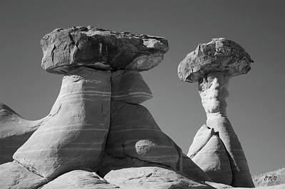 Rimrock Photograph - Paria Utah Xiii Bw by David Gordon