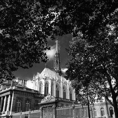 Photograph - Paris Cathedral by Marty Cobcroft