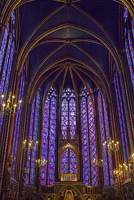Chapelle Photograph - Paris Chapel by Andrew Soundarajan