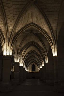 Vertical Photograph - Paris Conciergerie Hallway by Andrew Soundarajan
