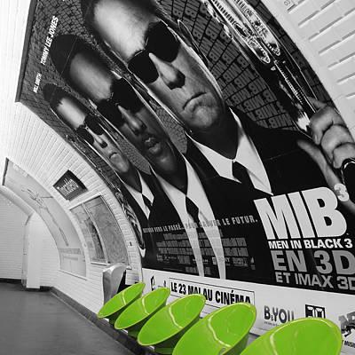 Will Jones Photograph - Paris Metro 4 by Andrew Fare