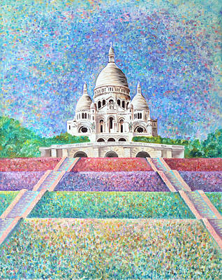 Impressionism Painting - Paris Monument by Elizabeth Lock
