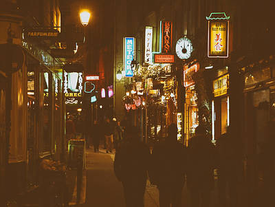 Paris Nightlife Print by Mountain Dreams
