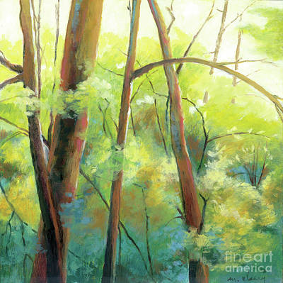 Painting - Park Walk 3 by Melody Cleary