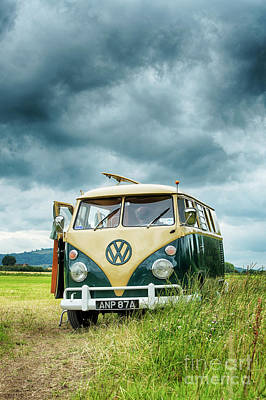 Parked Up Print by Tim Gainey