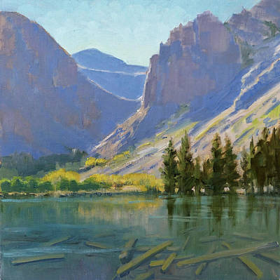 Parker Lake Print by Sharon Weaver