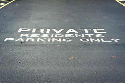 Parking Notice, Print by Tom Gowanlock