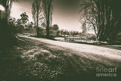 Old Country Roads Photograph - Parkway Drive by Jorgo Photography - Wall Art Gallery