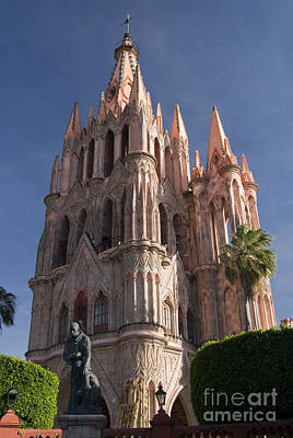 Parroquia De San Miguel Print by Gloria & Richard Maschmeyer - Printscapes