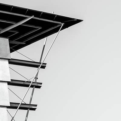 Digital Art - Part Of  Buildings by Toppart Sweden